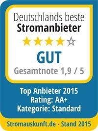 Deutschlands beste Stromanbieter