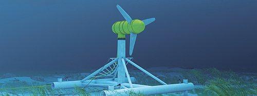 Unterwasser Strömungstechnologie