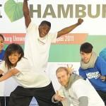Tanzen und Strom erzeugen in Hamburg