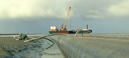 Großbaustelle Wattenmeer