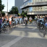 e-Biker in Essen