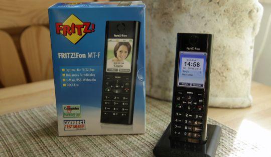 Fritz!Fon fromschön, elegant, blitzschnell eingerichtet