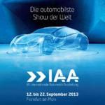 IAA – Elektromobilität ein wichtiges Thema
