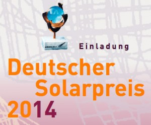 Deutscher Solarpreis 2014