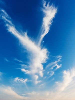 Wolken Himmel Wind