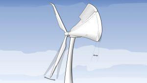 Windkraftanlage Windrad