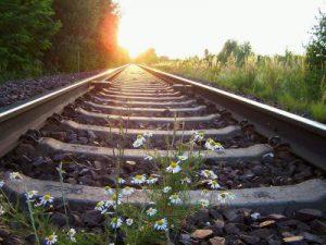 Bahn Zug Schienen
