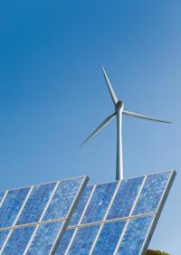 Erneuerbare Energien, Windkraft, Solarkraft