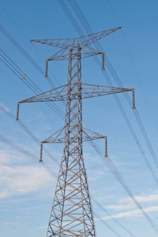 Strommast Hochstromleitung