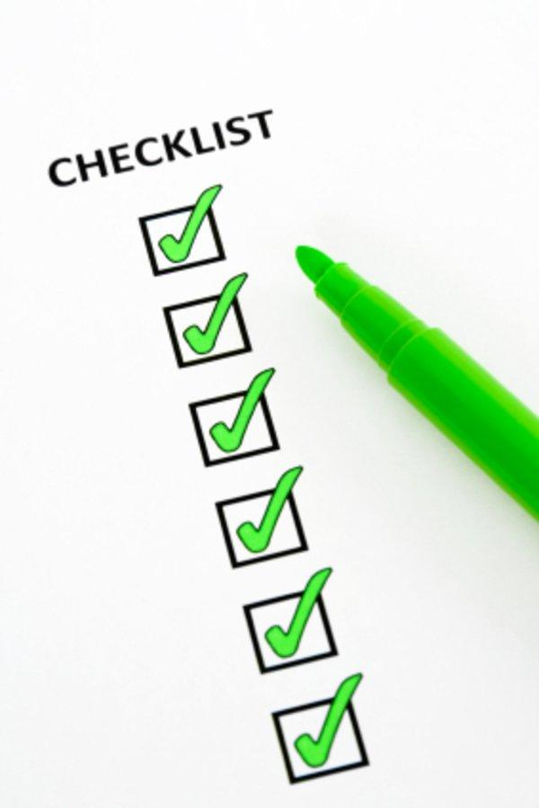 Checkliste Stromanbieterwechsel