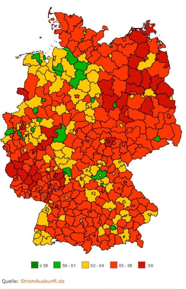 Strompreise Deutschland