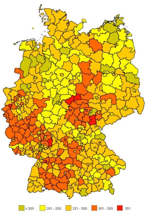 Stromanbieterwechsel - Atlas